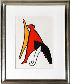 Stablies from Derrier le Miroir, Abstract Lithograph by Alexander Calder