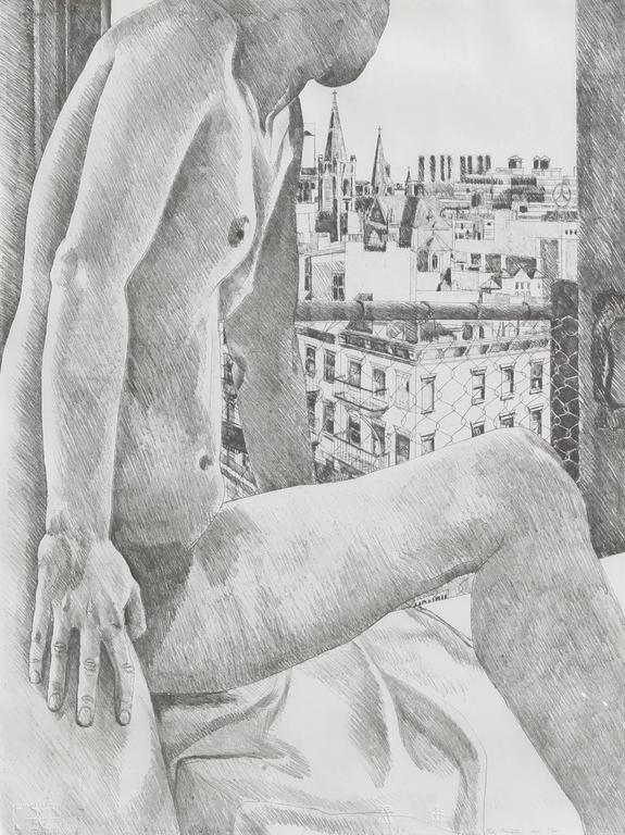 Nude and Cityscape