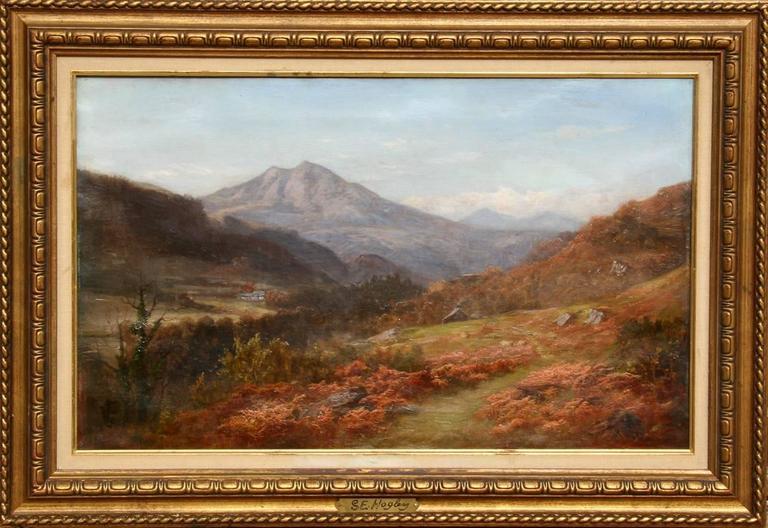 Stephen Enoch Hogley - Mountain Landscape 1