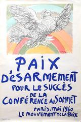 Paix Desarmement pour le succes de la Conference au Sommet