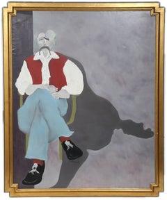 Self-Portrait in Paris