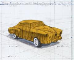 Wrapped Automobile: Project for 1950 Studebaker Champion Series 9G