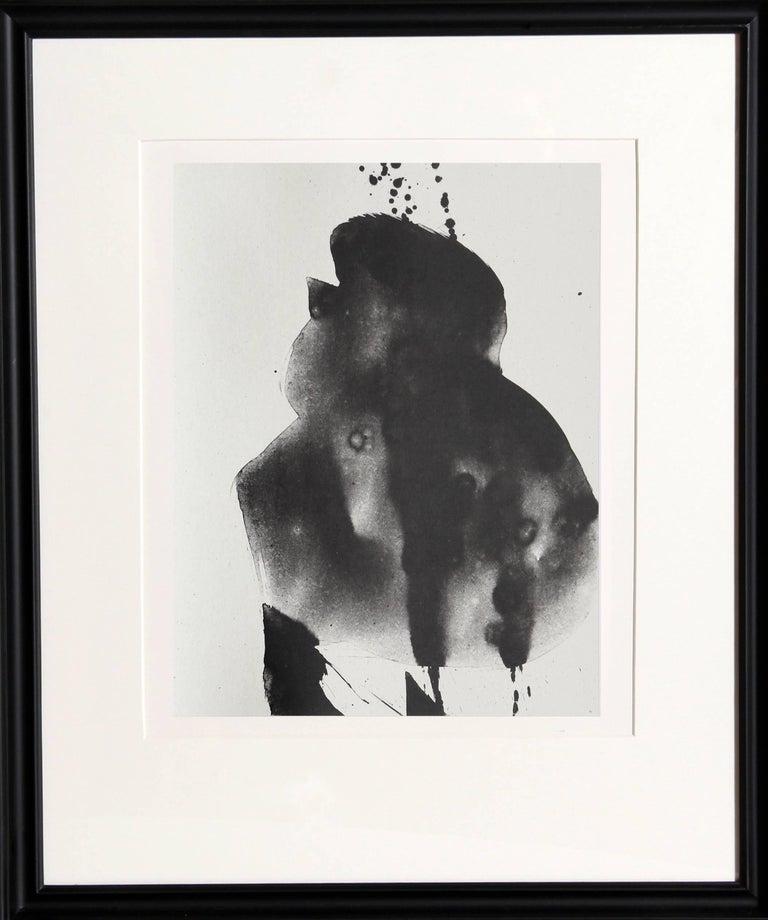 Robert Motherwell Abstract Print - Octavio Paz, Three Poems 3