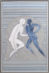 Untitled - Couple (Blue)