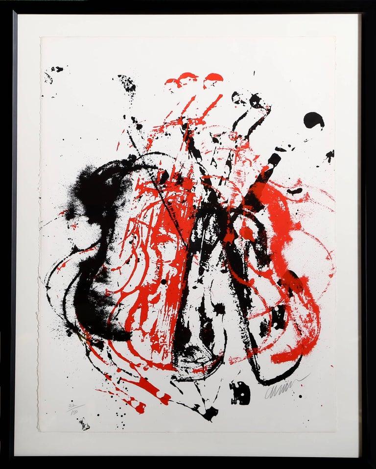 Arman Figurative Print - Violents Violin I