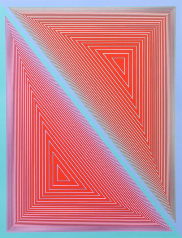 Richard Anuszkiewicz - untitled 3 from the Inward Eye portfolio 1