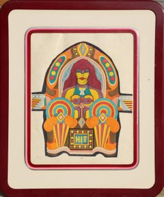 Hit, Pop Art Lithograph by Richard Lindner 1971