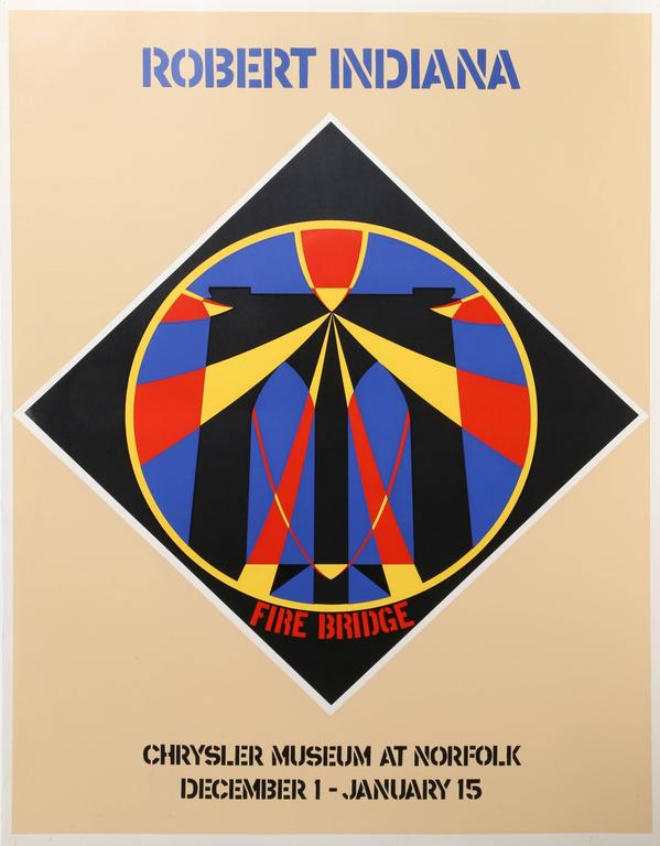 Robert Indiana A Garden Of Love Print For Sale At 1stdibs