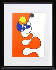 Abstract III from Derriere Le Miroir, Lithograph by Alexander Calder