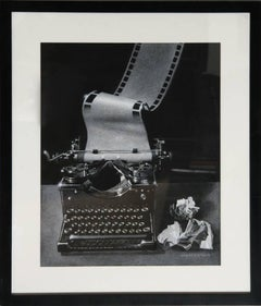Typewriter (Illustration for Playgirl Magazine)