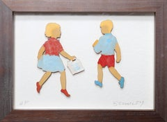 Girl and Boy Shopping
