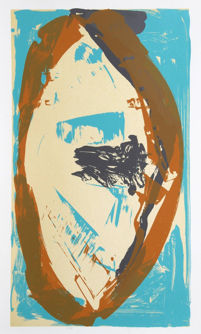 Darryl Hughto Abstract Print - Staying Power
