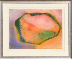 Wave Cry Series #10, Colorful Abstract Painting by Jeff Hoare