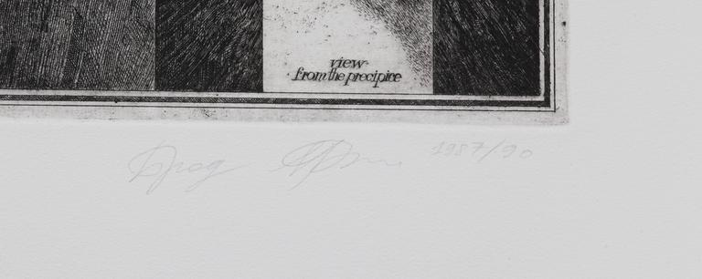 A Bridge from Brodsky and Utkin: Projects 1981 - 1990 - Surrealist Print by Alexander Brodsky and Ilya Utkin