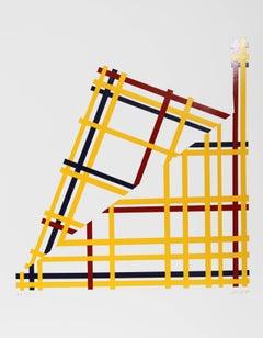 Folded NYC I (Mondrian)