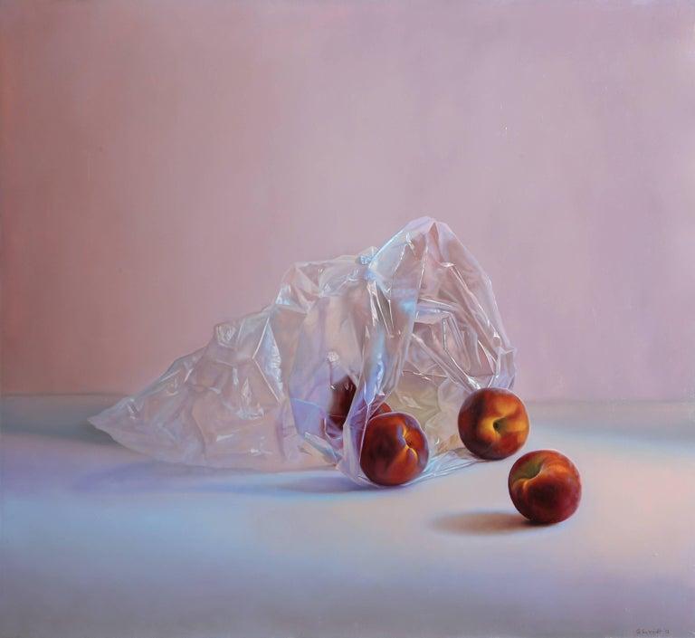 Gustavo Schmidt Still-Life Painting - Peaches I