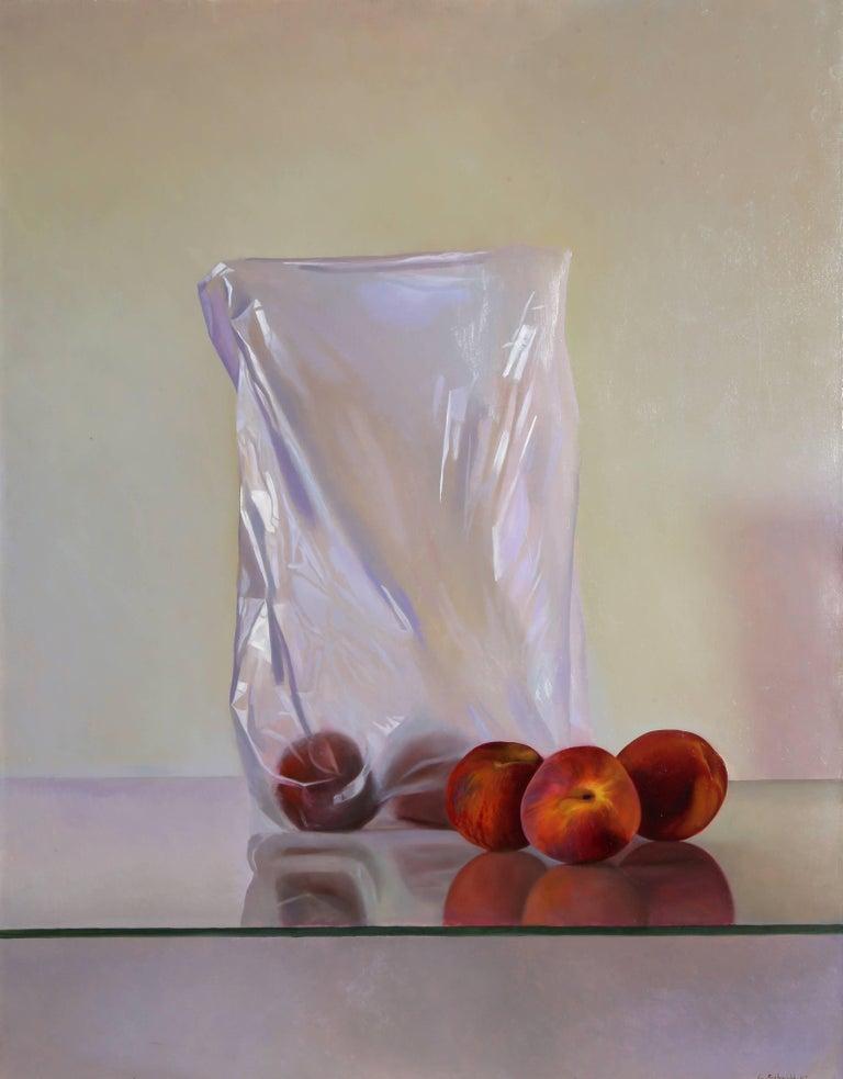 Gustavo Schmidt Still-Life Painting - Peaches II