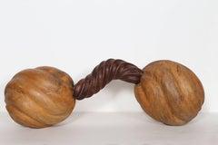 Unique wooden sculpture by Chris Berti