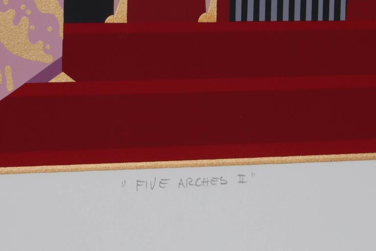 Five Arches II - Print by Giancarlo Impiglia
