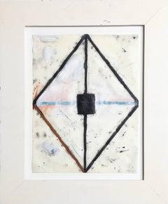 John Millei, Mixed Media on Synthetic Vellum, 1987
