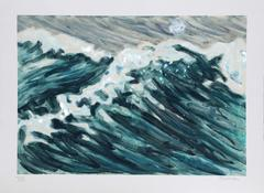 "Richard Bosman, ""Waves,"" Monotype, 1988"