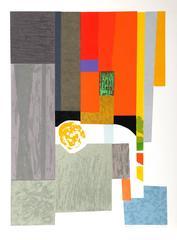 "Seong Moy, ""Cape Cod Interior,"" Serigraph, 1982"