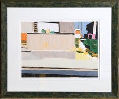 "Samuel Tepler, ""Untitled 5-2,"" Lithograph, circa 1970"