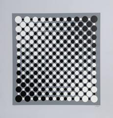 "Julio Le Parc, ""Untitled,"" Serigraph, circa 1960"