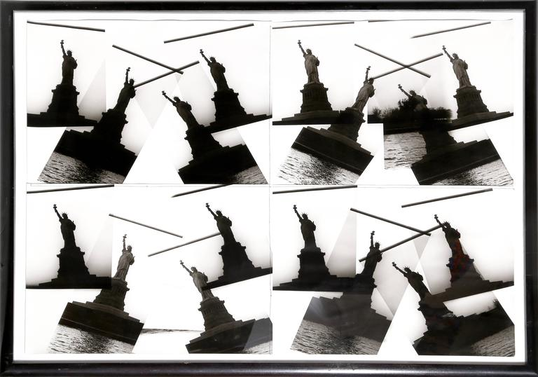 """Christopher Makos, """"Four by Four: Statue of Liberty,"""" Photo Collage, 1986  - Photograph by Christopher Makos"""