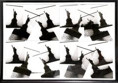 "Christopher Makos, ""Four by Four: Statue of Liberty,"" Photo Collage, 1986"