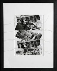 "Christopher Makos, ""Andy Warhol Collage,"" Sewn Photo Collage, circa 1985"