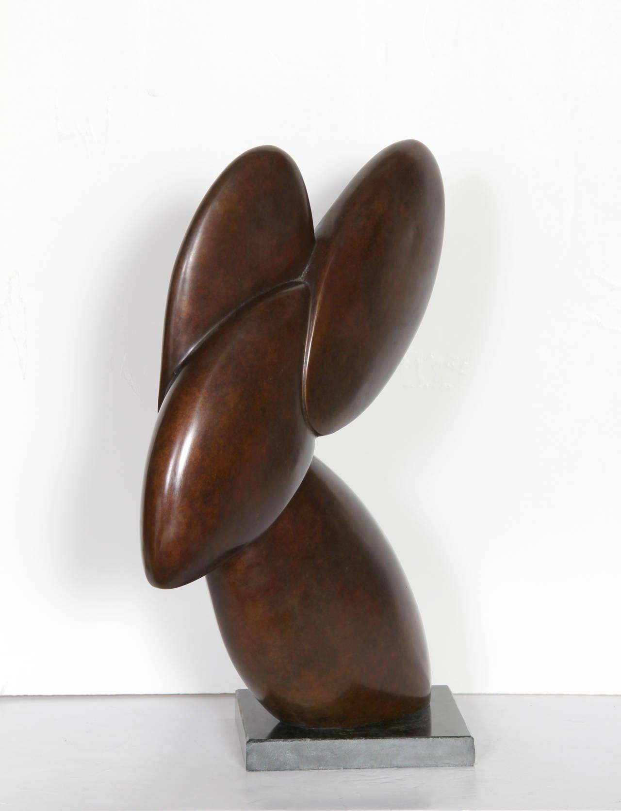 Rabbit - Sculpture by Constantin Antonovici