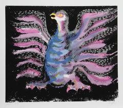 Victor Delfin, Condor, Serigraph, 1980