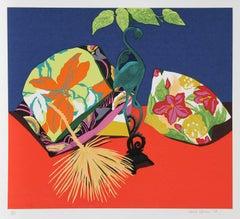 "Hunt Slonem, ""Iron Flamingo,"" Serigraph, 1979"