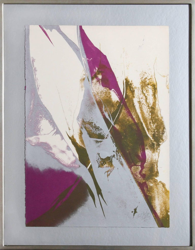 Paul Jenkins, Abstract Lithograph, 1967