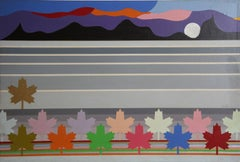 """Max Epstein, """"Canadian Landscape,"""" Oil on Canvas, 1976"""