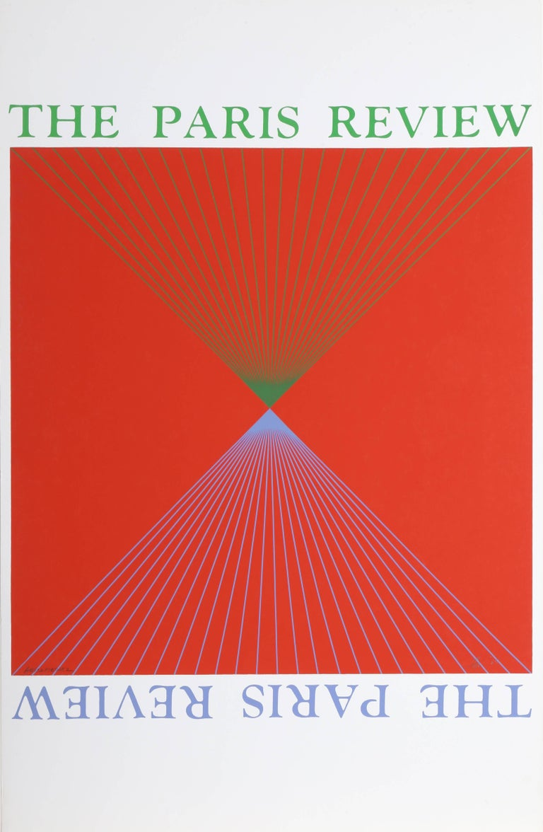 "Richard Anuszkiewicz, ""The Paris Review,"" Serigraph, 1965"