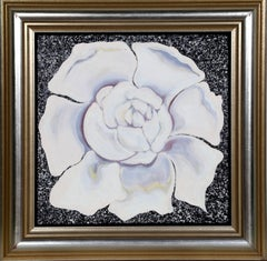 "Lowell Nesbitt, ""Gardenia,"" Oil on Canvas, 1982"