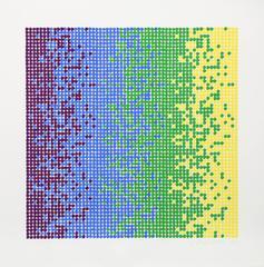 David Roth, Abstract Screenprint, 1980
