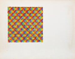 David Roth, Abstract Painting, 1977