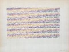 David Roth, Abstract Drawing, 1977