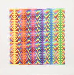 David Roth, Abstract Screenprint, 1979