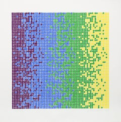 David Roth Abstract Serigraph 1980