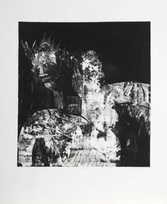 "Sylvia Roth, ""The Empress,"" Etching with Aquatint, circa 1980"