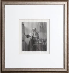 """Timothy Cole after Vermeer, """"Woman with Water Jug,"""" Photolithograph, circa 1910"""