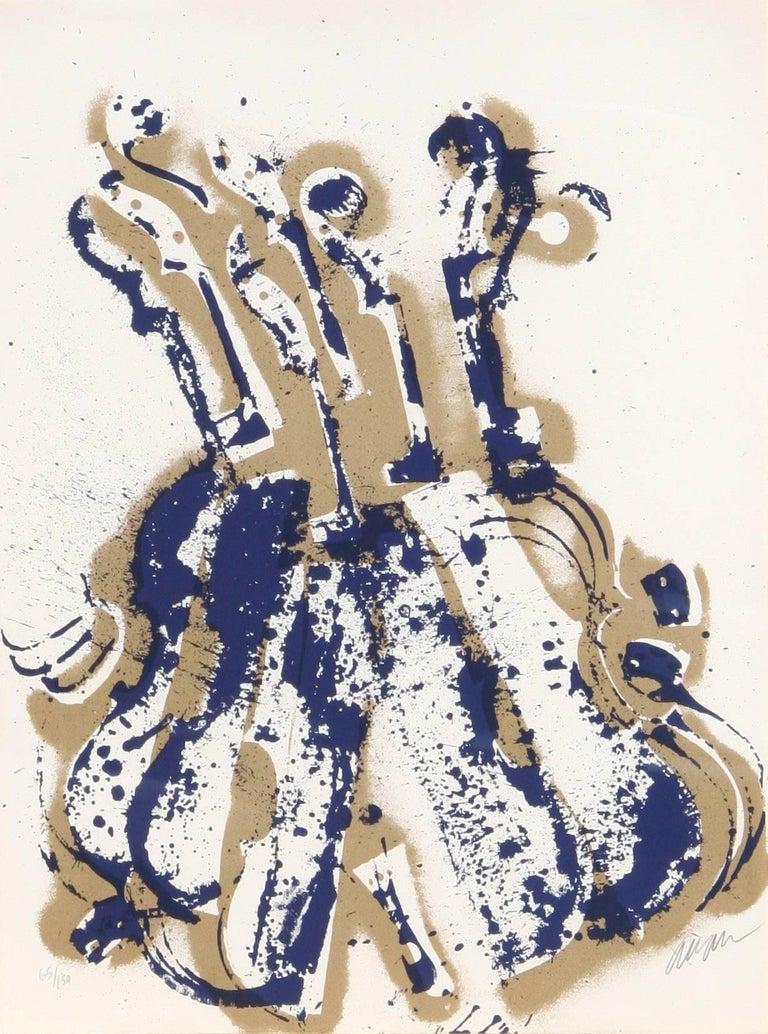 Arman Still-Life Print - Yves Klein's Violins