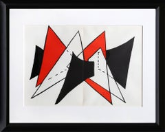 Study for Sculpture II from Derriere Le Miroir, Abstract by Alexander Calder