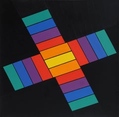 Geometric Abstract Painting, 1969-70
