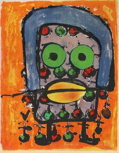 """L'Homme,"" Lithograph, circa 1970"