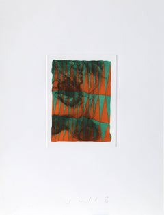 """""""Triangles,"""" Etching with Aquatint, 1990"""